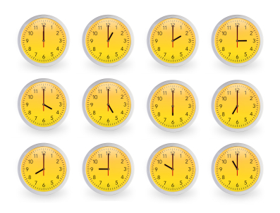 Multiple clocks - prioritisation